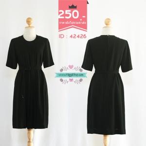 42426 size38-36-40 เดรสสีดำ