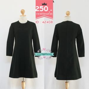 (ID 4269 จองคะ) 42408 size36-32-38 เดรสสีดำ