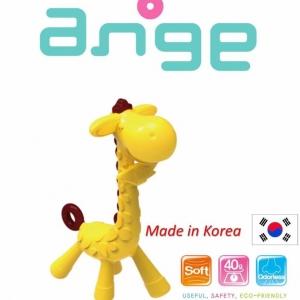 ยางกัดปลอดสารพิษยอดฮิต Ange Baby Teether (Giraffe Teether)