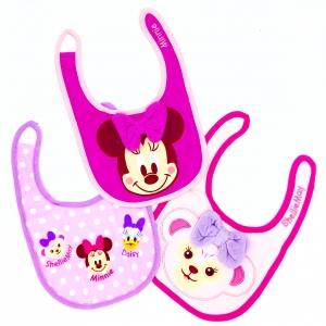 ชุดผ้ากันเปื้อนสำหรับเบบี๋แสนน่ารัก Disney Disney Baby Bib Set of 3 (Minnie Mouse & Friends)