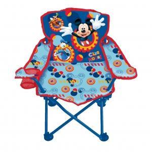 เก้าอี้ปิกนิกพับได้สำหรับเด็ก Disney Mickey Mouse Club House Fold 'N Go Chair (Mickey Mouse)