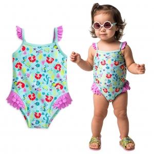 ชุดว่ายป้องกันรังสียูวีน้ำสำหรับทารกและเด็กเล็ก Disney Swimsuit for Baby (Ariel The Little Mermaid)
