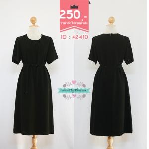 (ID 4265 จองคะ)42410 size38-38-42 เดรสสีดำ