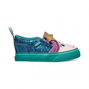 รองเท้าผ้าใบสำหรับเด็ก VANS Toddler Asher V Blossom/Latigo Bay