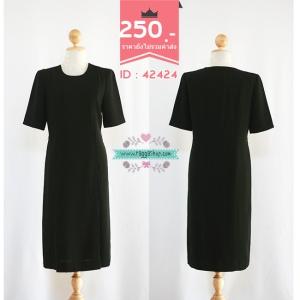 42424 size36-34-38 เดรสสีดำ