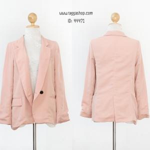 44471 40-36-42 เสื้อาสูทสีชมพู
