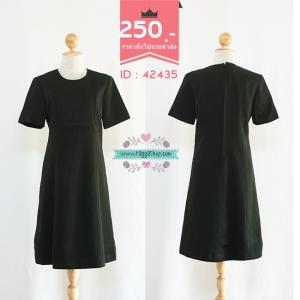 42435 size38-34-42 เดรสสีดำ