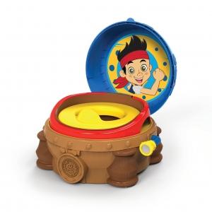 กระโถนฝึกขับถ่ายสำหรับเด็ก The First Years Disney Baby รุ่น 3-in-1 Celebration Potty System (Jake and the Never Land Pirates)
