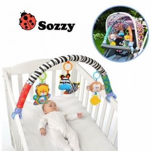 โมบายติดรถเข็น คาร์ซีท และเปลเด็ก Sozzy รุ่น Animal Jungle