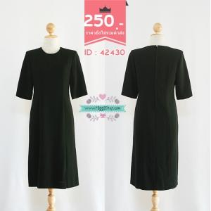 42430 size36-32-36 เดรสสีดำ