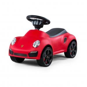 รถซุปเปอร์คาร์ขาไถลิขสิทธิ์แท้ของรถยนต์ Porsche รุ่น Porsche 911 Turbo Push Car - Red