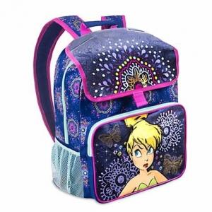กระเป๋าเป้สะพายหลังพร้อมไฟระยิบระยับ Disney Tinker Bell Light-Up Backpack