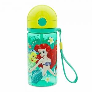 กระติกน้ำพร้อมหลอดดื่มน้ำ Disney Canteen for Kids (The Little Mermaid Ariel)