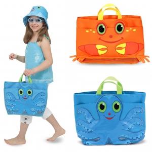 กระเป๋าบรรจุของเล่นริมชายหาด Melissa & Doug รุ่น Beach Tote Bag