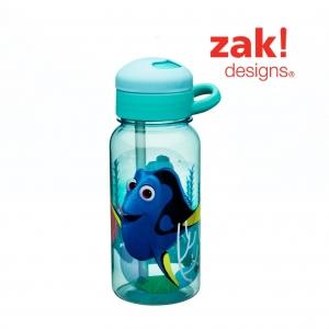 กระติกน้ำแบบหลอดดูดสำหรับเด็ก Zak! Designs 14 Oz. Water Bottle with Straw (Finding Dory)