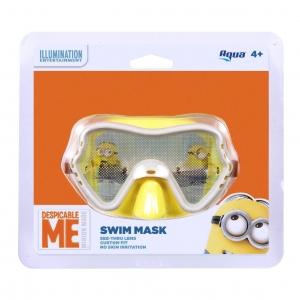 แว่นตาว่ายน้ำสำหรับเด็ก Aqua Swim Mask (Despicable Me)