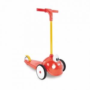 สกู๊ตเตอร์สามล้อขาไถสำหรับเด็กเล็ก Little Tikes Cozy Coupe Scooter