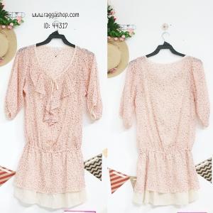 44317 size40 เสื้อสีชมพู