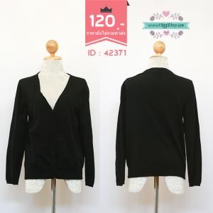 (ID 4258 จองคะ) 42371 size40 เสื้อคลุม เสื้อกันหนาว เสื้อไหมพรม