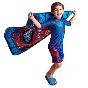 เสื้อและกางเกงว่ายน้ำสำหรับเด็ก Disney Rash Guard and Swim Shorts for Boys (Spider-Man)