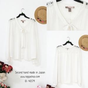 46579 เสื้อสีขาว