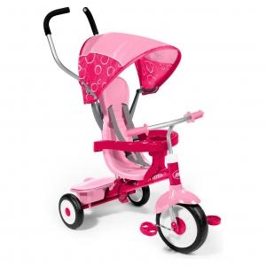 จักรยานสามล้อเอนกประสงค์ Radio Flyer 4-in-1 Stroll 'n Trike (Pink)