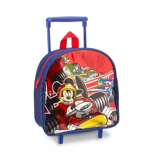 กระเป๋าเดินทางล้อลากสำหรับเด็กเล็ก Disney Small Rolling Luggage (Mickey and the Roadster Racers)