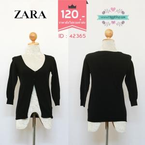 42365 size34-36 เสื้อคลุม เสื้อกันหนาว เสื้อไหมพรม