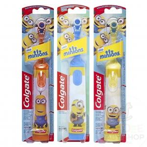 แปรงสีฟันอัตโนมัติสำหรับเด็ก Colgate Battery Powered Toothbrush (Minions)
