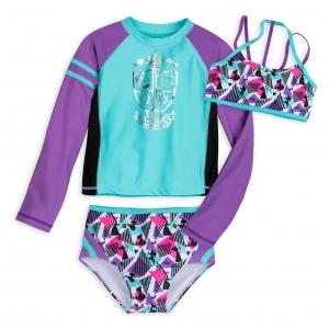 ชุดว่ายน้ำสำหรับเด็ก Disney Princess Swimwear Set for Girls by Our Universe