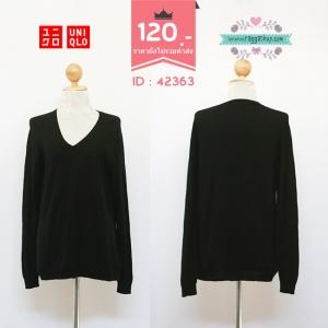 (ID 4251 จองคะ) 42363 size44 เสื้อคลุม เสื้อกันหนาว เสื้อไหมพรม