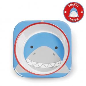 ชามอาหารสำหรับเด็ก Skip Hop รุ่น Zoo Bowls (Shark)