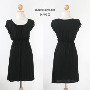 44502 size S M เดรสสีดำ