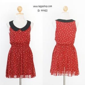 44460 size34 เดรสสีแดง