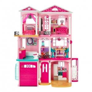 คฤหาสถ์ตุ๊กตาในฝันสำหรับสาวน้อย Barbie Barbie Dreamhouse