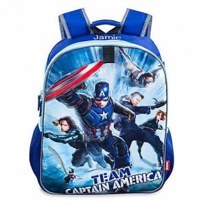 กระเป๋าเป้สะพายหลังพลิกเปลี่ยนลายได้ Marvel รุ่น Captain America : Civil War Reversible Backpack