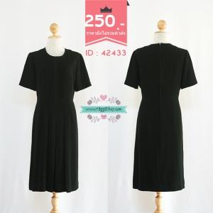(Id 4289 จองคะ) 42433 size40-34-42 เดรสสีดำ