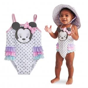 ชุดว่ายป้องกันรังสียูวีน้ำสำหรับทารกและเด็กเล็ก Disney Swimsuit for Baby (Minnie Mouse)