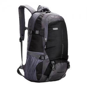 NL04 กระเป๋าเดินทาง สีดำ ขนาดจุสัมภาระ 45 ลิตร