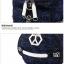 TR02 กระเป๋าทรงกระบอก แคนวาส สีน้ำตาล thumbnail 8