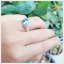 แหวนสวิสบลูโทแพซแท้ เสริมเสน่ห์ใส่ติดนิ้วน่ารักๆ thumbnail 4