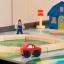 โต๊ะกิจกรรมสำหรับเลโก้พร้อมชุดรถไฟ Kidkraft 2-in-1 Activity Table with LEGO-Compatible Board and Train Set (Espresso) thumbnail 7