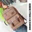 VT07- Green กระเป๋าเป้แคนวาส กระเป๋าผู้ชาย สีเขียว thumbnail 33