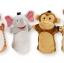ชุดตุ๊กตาหุ่นมือ Melissa & Doug Hand Puppets (Zoo Friends) thumbnail 5