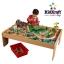 โต๊ะกิจกรรมเอนกประสงค์พร้อมชุดโมเดล KidKraft Waterfall Mountain Train Set & Table thumbnail 1