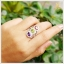 แหวนพลอยแท้ 3 สี อเมทิสต์ เพริดอต โกเมน ใส่ติดนิ้วเก๋ๆ thumbnail 5