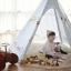 บ้านจำลองทรงเต๊นท์อินเดียนแดงสำหรับเด็ก LOOKA Tent (Little Journey) thumbnail 5