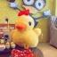 ตุ๊กตาเป็ดเหลืองมีโบว์ ขนยาวนุ่มสุดๆ 30Cm.++ (ขนาดจริง 35 มีเสียง) thumbnail 1