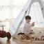 บ้านจำลองทรงเต๊นท์อินเดียนแดงสำหรับเด็ก LOOKA Tent (Little Journey) thumbnail 4