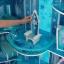 ปราสาทเจ้าหญิงเอลซ่าขนาดใหญ่ยักษ์ KidKraft Disney Frozen Snowflake Mansion Dollhouse thumbnail 5